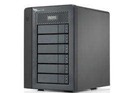 Promise Pegasus 2 R6 with 6 x 2TB SATA HDD incl Thunderbolt cable - Excl. 1499,00