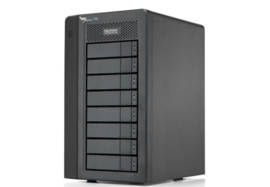 Promise Pegasus 2 R8 with 8 x 3TB SATA HDD Incl Thunderbolt cable - Excl. 2389,00