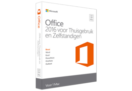 Office Mac Home Business 2016 NL - Excl. 199,00