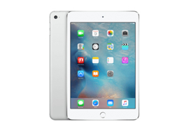 iPad mini 4 Wi-Fi Cell 32GB Silver- Excl. 462,00