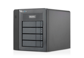 Promise Pegasus 2 R4 with 4 x 2TB SATA HDD incl Thunderbolt cable - Excl. 989,00