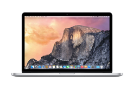 MacBook Pro 15-inch Retina Core i7 2.5GHz/16GB/512GB/AMD Radeon R9 M370X w/2GB - Excl.  2265,00