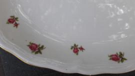 Dinerbord Seltmann Weiden Marie Luise met rose roosjes (alleen op de rand)