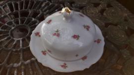 Mitterteich Bavaria Botervloot met roze/rode roosjes