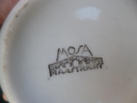 Roomstel Mosa met zilveren biesjes