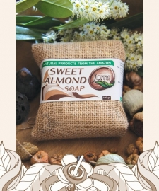 Sweet Almond soap 100gr
