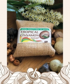Tropical Cinnamon soap 100gr