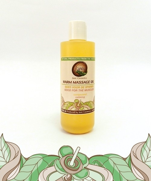 Warm Massage Oil 250ml