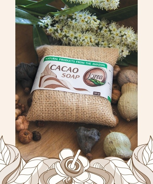 Cacao soap 100gr