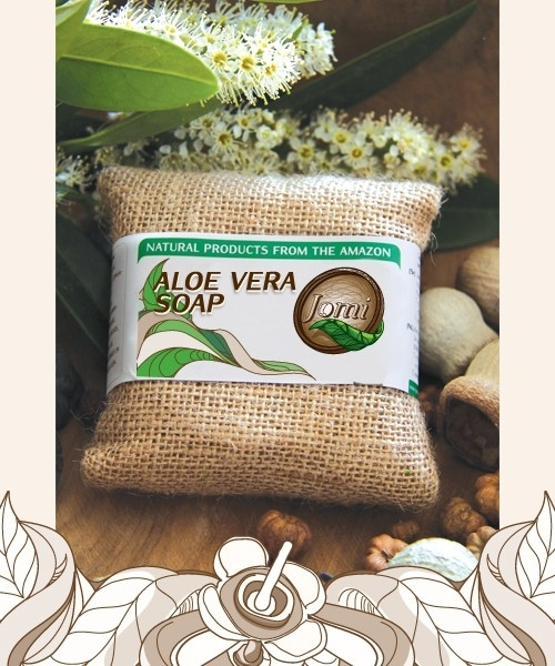 Aloe Vera soap 100gr