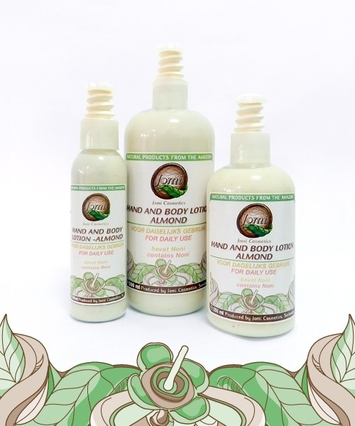 Almond Hand and Body Lotion  250ml/ 500ml
