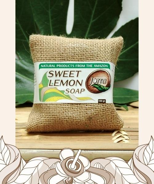 Sweet Lemon soap 100gr