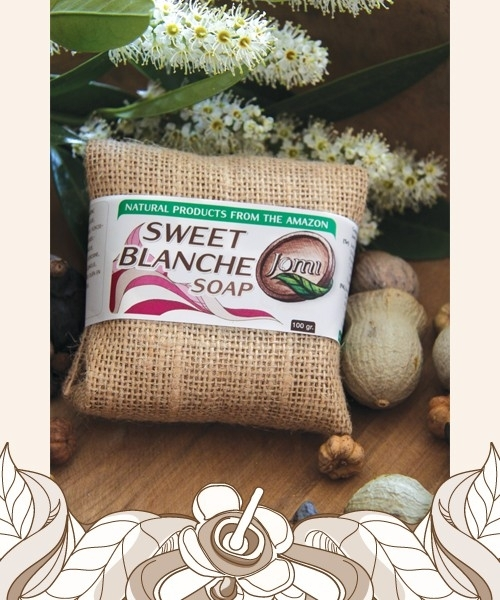Sweet Blanche soap 100gr