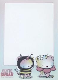 Sticky Notes Block - Unikitty & Bee - CutieSquad
