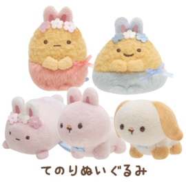 Mini Plush Sumikkogurashi Fushigina Usagi No Oniwa - Bunnies (pick one)