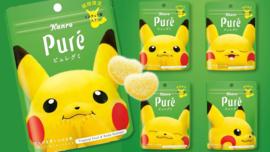 Puré Pokémon Pikachu Gummy (tropical)