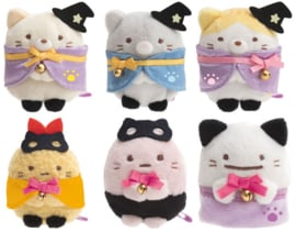 Mini Plush Sumikkogurashi Halloween (Full set 6 pcs)