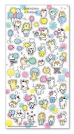 Stickervel Seal Gorogoro Nyansuke