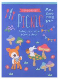 A5 Notizblock (Memo XL) Hummingmint picnic 48 Blatt