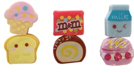 Kawaii Mini Erasers - Pick a set