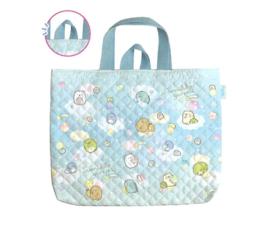 Sumikkogurashi Handbag - Happy For School - Blue