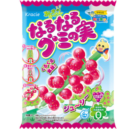 Popin Cookin Naru Naru Gumi No Mi Grape (gummy tree)