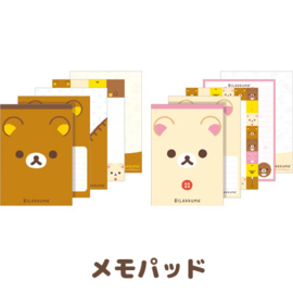 Memoblok San-X Korilakkuma Face (medium)