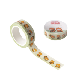 Washi tape - Kawaii Red panda CutieSquad