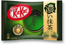 Japanischen KitKat mini Double Matcha - 12 pieces