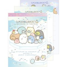 Memoblok San-X Sumikkogurashi Northpole Ice (medium)