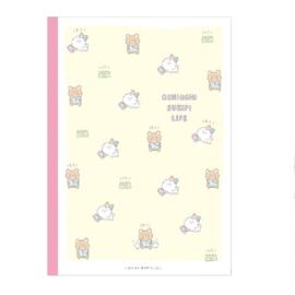 Schrift MindWave medium - oshioshi sukipi life - geel