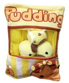 Plushie Pudding bag - yellow