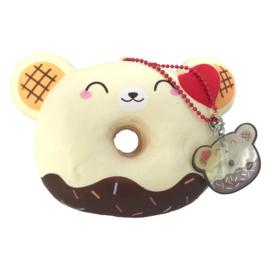 Squishy Yummiibear Donut - Vanilla Chocolate