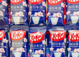 KitKat mini Sakura & Sake - 1 stuk