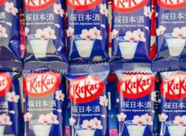 KitKat mini Sakura & Sake - 1 Piece