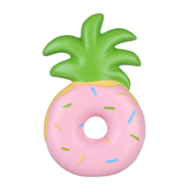 Squishy Pineapple Donut - Pink