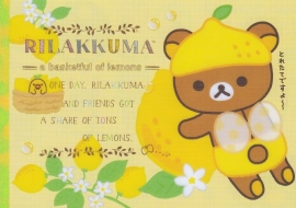 San-X Rilakkuma Fresh Lemon