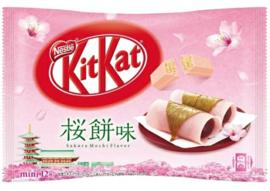 KitKat mini Sakura Mochi - zak 12 stuks