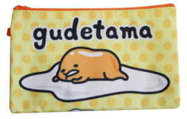 Zipper pouch / Pencil pouch Gudetama - Dots