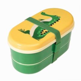 Kawaii bentobox Herry The Crocodile