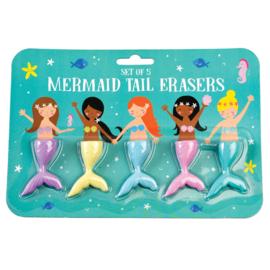 Radiergummi set Mermaid Tails