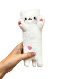 Kawaii Cat Plush - White