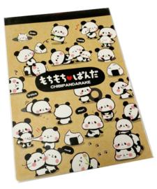 A5 briefpapier Mochi Mochi Panda Craft - 32 Blatt