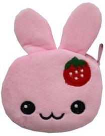 Plushie portemonnee kawaii bunny roze