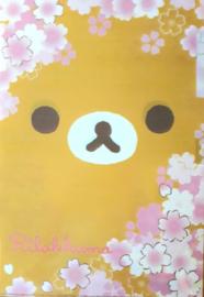 A4+ insteekmap Rilakkuma Blossom
