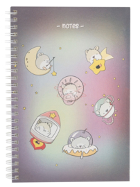 Notebook A5 - Space Hamsters - Cutiesquad