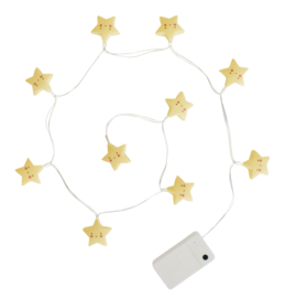 String Lampe Star Gelb