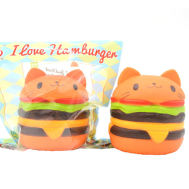 Squishy Cat Burger