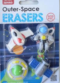 Eraserset Space & Ufo