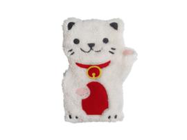 Huggable Lucky Cat - magnetron plushie